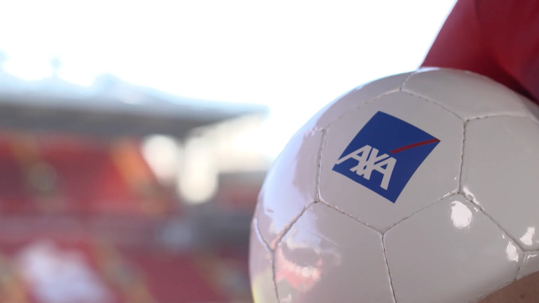 AXA, #1 Global Insurance Brand for the 10th consecutive year, partners with Liverpool FC