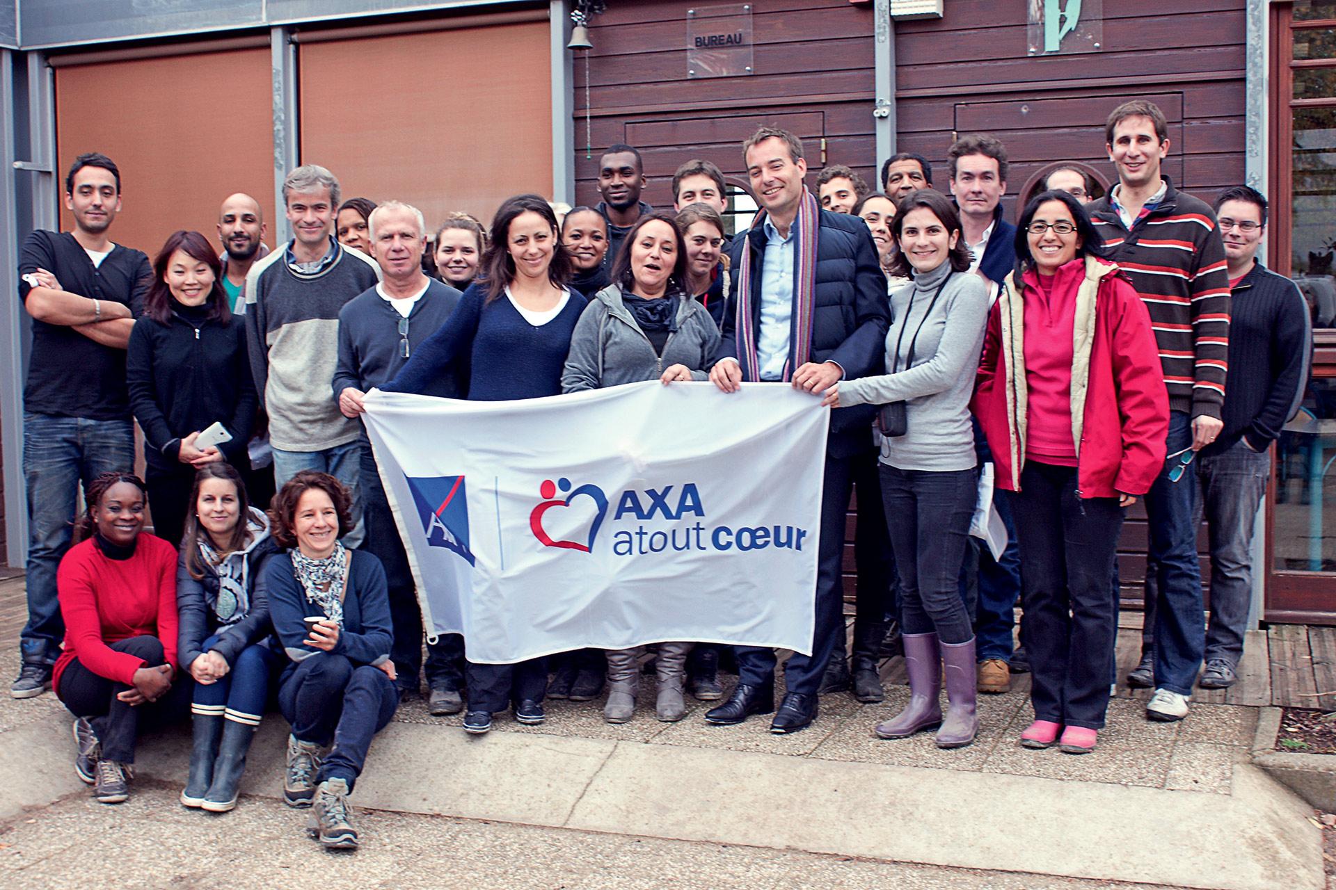 Axa axa group 39 s international volunteer program - Axa insurance uk head office ...