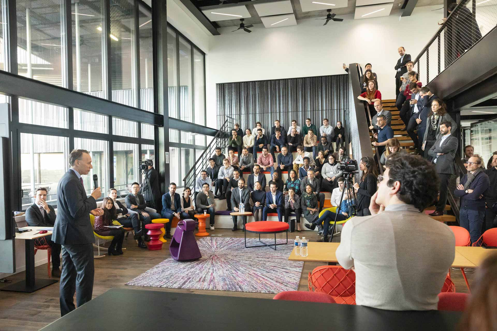 In the heart of Paris, AXA inaugurates global innovation