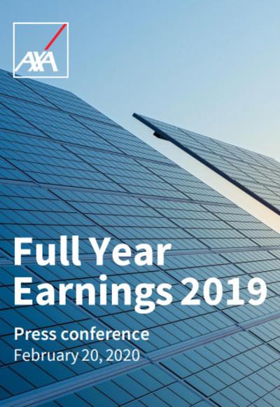 Full Year Earnings 2019, Press Presentation